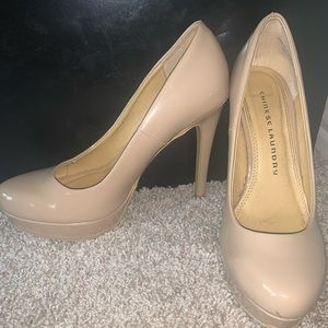 Chinese Laundry Nude Glossy Pumps